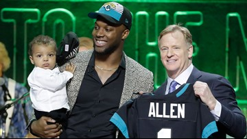 Josh Allen's son is the real winner of the NFL Draft
