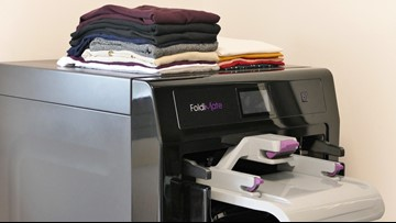 A machine that will fold your laundry is expected to launch this year