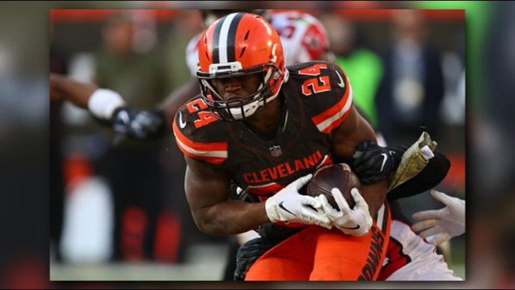 LISTEN | Jim Donovan calls Nick Chubb's 92-yard touchdown run, the longest in Browns history