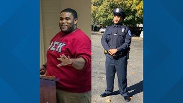 Virginia man loses nearly 200 pounds to become police officer
