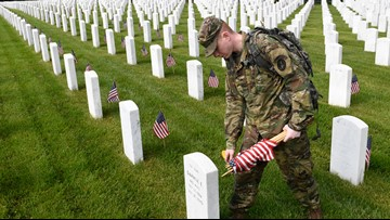 What is the difference between Memorial Day and Veterans Day?