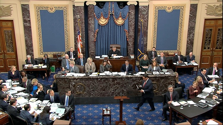 Why water and milk are the only drinks allowed on the Senate floor