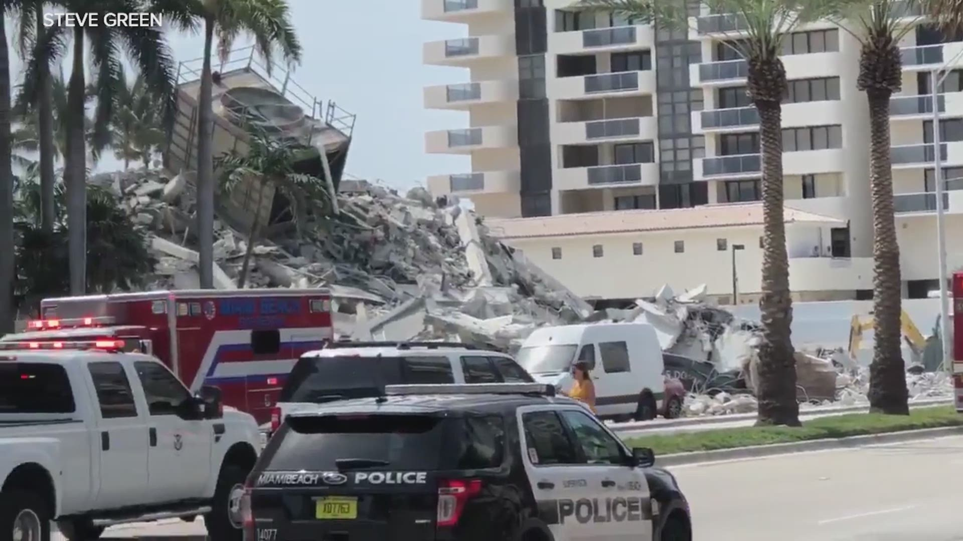 building collapse in miami beach injures one | 12newsnow