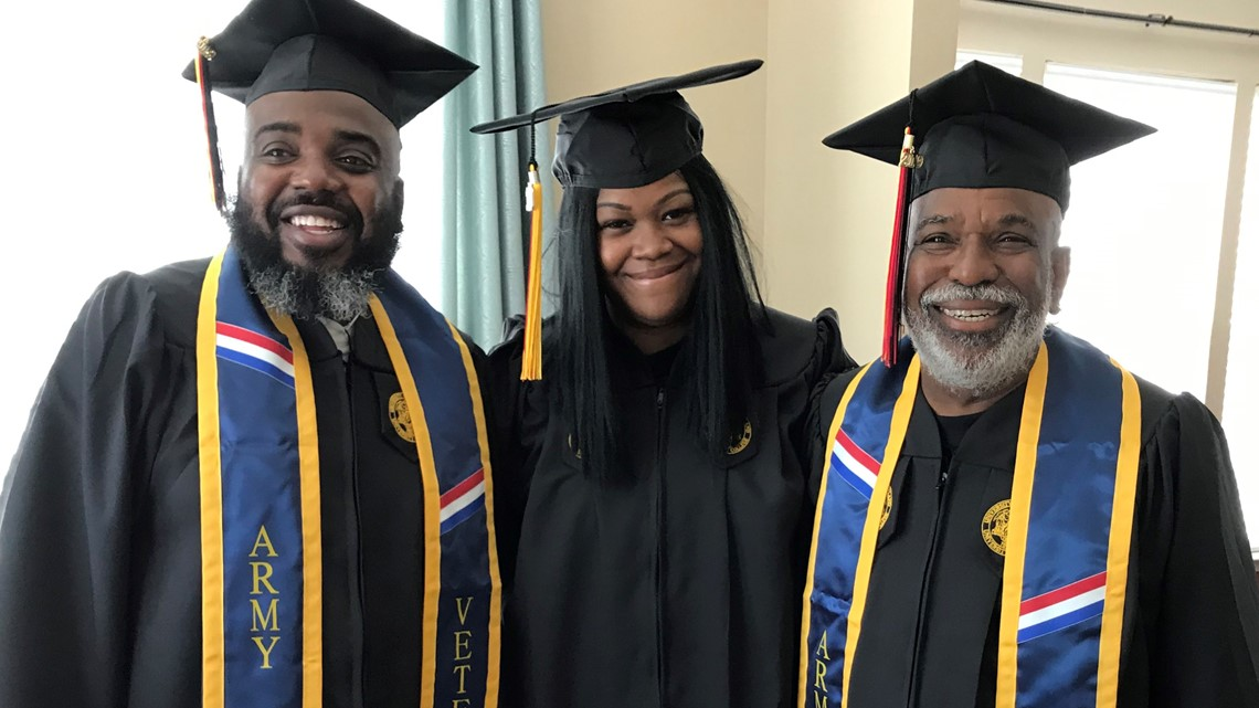 New college grads: Mom, dad, and granddad all get bachelor's degrees together