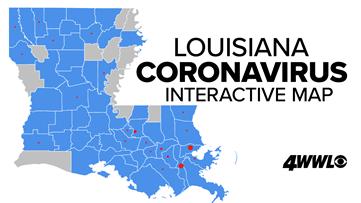 Track COVID-19: Louisiana Coronavirus Outbreak Map