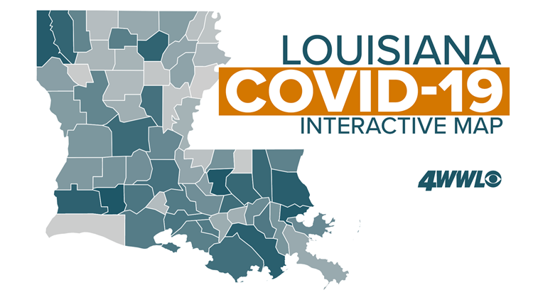 Louisiana COVID-19 Interactive Map 2021