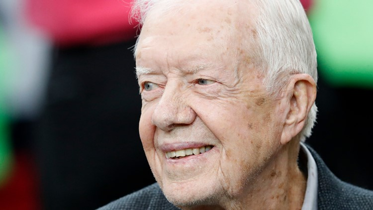 Jimmy Carter recovering after surgery on brain for subdural hematoma