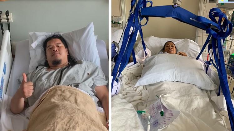 Mom-son kidney transplant