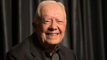 Jimmy Carter becomes oldest living former president