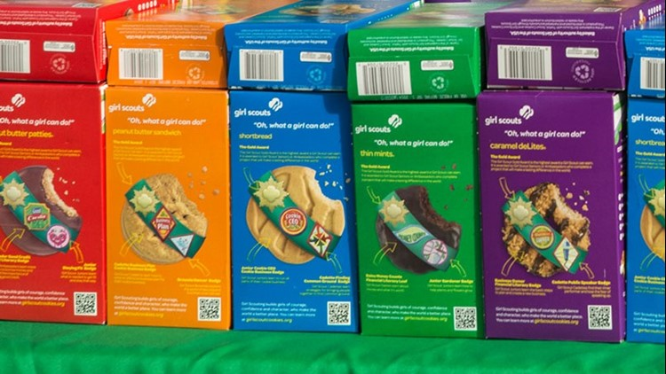Southeast Texas Girl Scout troops raising money to donate cookies to first responders, essential workers