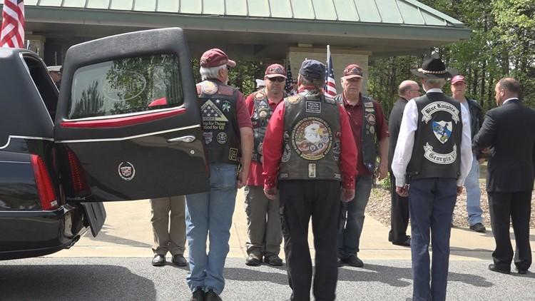 Patriot Guard honors Lt. Richard Butterfield