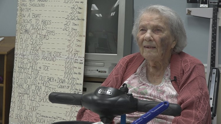 This Georgia fitness instructor is turning 105