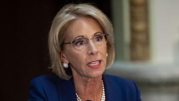 Betsy DeVos' staff denies rumor she's leaving education secretary job